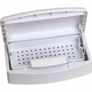 Коробочка для дезинфекции инструментов c крышкой