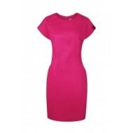 Платье амарант для работников салона размер 34 (XS)