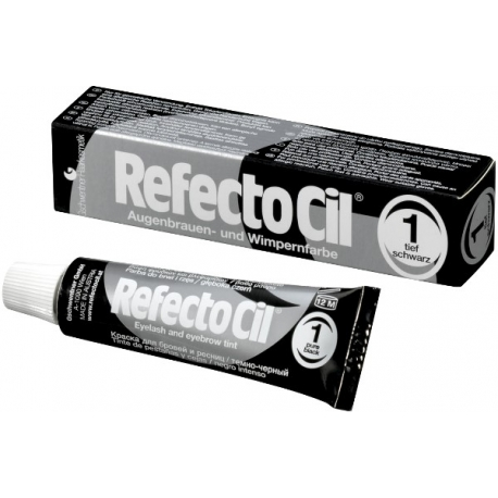 RefectoCil краска для ресниц и бровей nr.1 чёрная
