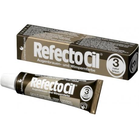 RefectoCil краска для ресниц и бровей nr. 3 Натуральный коричневый