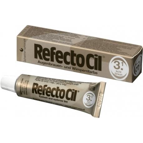 RefectoCil ripsme- ja kulmuvärv nr. 3.1 Helepruun