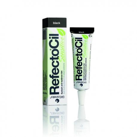 Краска для бровей и ресниц чёрная Refectocil Sensitive 15 ml