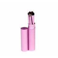 Кисти для макияжа 5 штук розовые