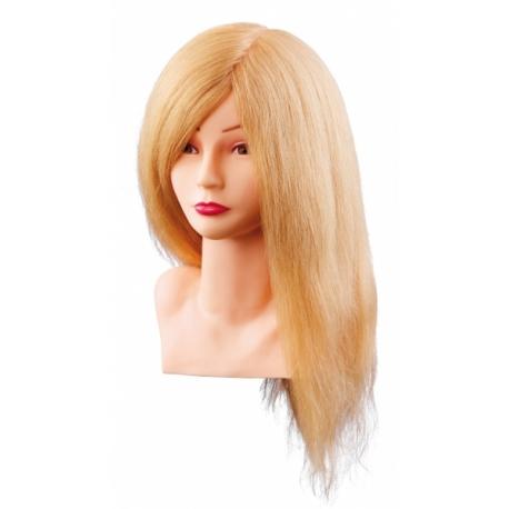 Treeningpea naturaalsed juuksed 40 cm heledad