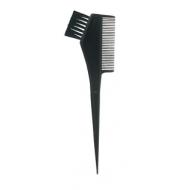 Кисточка с расчёской чёрная 21 x 6,5 cm