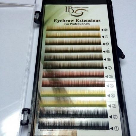 Брови цветные 0,10 - 6mm