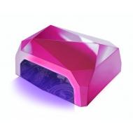 CCFL UV-LED лампа 36W Гибридная лампа Тёмно розовая