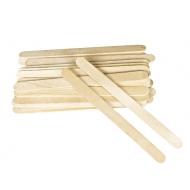 Узкие деревянные шпателя 100 шт