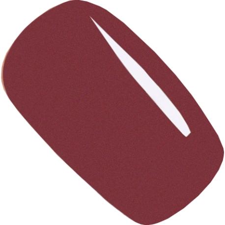 geellakk Jannet color 06 burgundy brown pearl 15ml