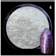 Алмазный порошок глиттер фиолет