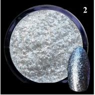 Алмазный порошок глиттер светло-голубой