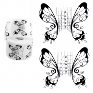 Nail forms butterfly