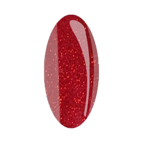 geellakk Jannet color 129 glitter red