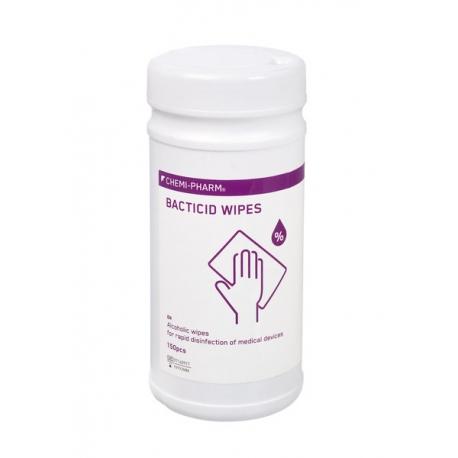 Desinfitseerivad rätikud - Chemi-Pharm Bacticid Wipes