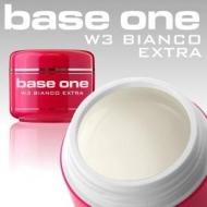Base One W3 Bianco Extra 5g белый гель