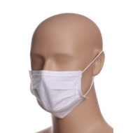 Disposable medical masks white 50 pcs