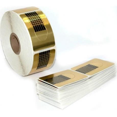 Šabloonid - küünevormid classic gold