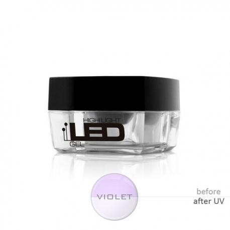 HLL Violet 30g прозрачный строительный гель