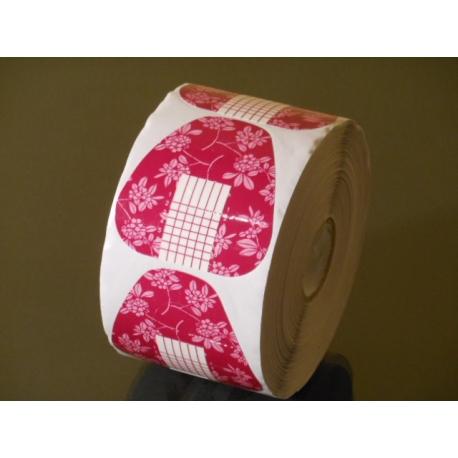 Šabloonid kolmnurk roosa