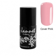 Paks roosa alusgeellakk - Jannet Hybrid Gel Base Extension Cover Pink