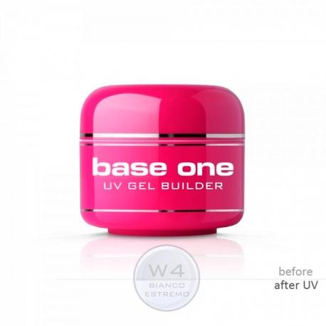 Base One W4 Bianco Estremo 5g белый гель