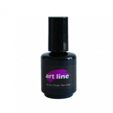Quick finish top coat 15 ml läikegeel