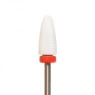 Ceramic nail drill bit red