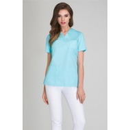 Medical blouse Aqua