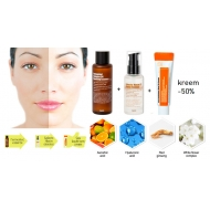Rutine for brighten your skin complexion (skin tone-up)