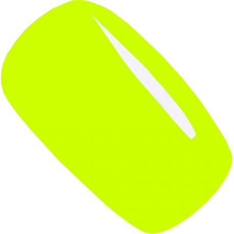гель-лак Jannet цвет 74 neon yellow 15 ml флуоресцентный