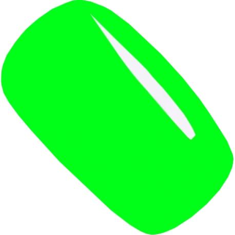 гель-лак Jannet цвет 75 neon green 15 ml флуоресцентный