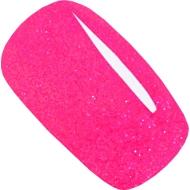 гель-лак Jannet цвет 98 neon pink GLITTER флуоресцентный