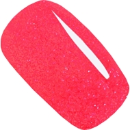 geellakk Jannet color 99 neon red pink GLITTER fluorestsents