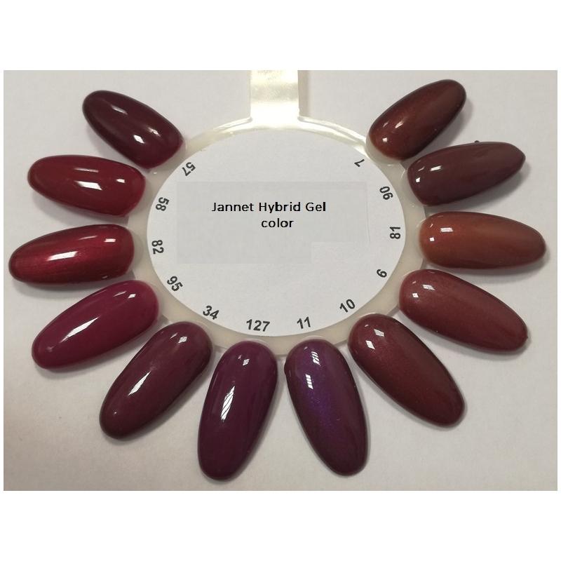 3ea079a5b7e Näidis värvilised geellakid Jannet Hybrid Gel Color - Magnolia Grand