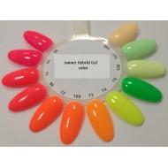 Näidis noenvärvi geellakid Jannet Hybrid Gel Neon Color