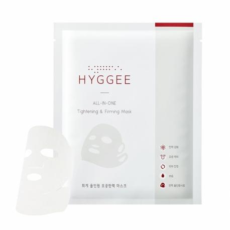 Universaalne mask näole ja kaelale - HYGGEE all-in-one Tightening&Firming Mask