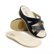 Ортопедическая обувь женская синяя