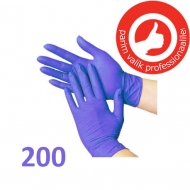 Nitrile gloves powder free 200 pcs Blue