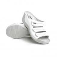 Ортопедические тапки женские белые -Серия Comfort