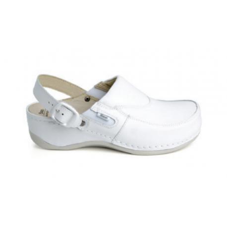 Ortopeedilised jalatsid rihmaga naistele valged