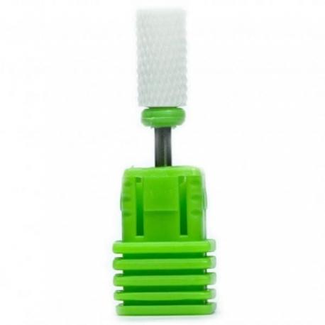 Keraamiline frees roheline silinder