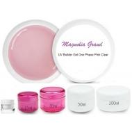 УФ гель однофазный розовый прозрачный UV Builder Gel One Phase Pink Clear