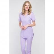 Medical blouse light lilac