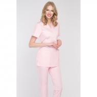 Medical blouse light pink