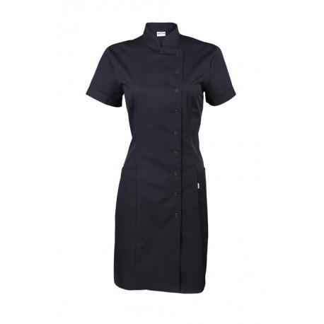 Платье-халат чёрное