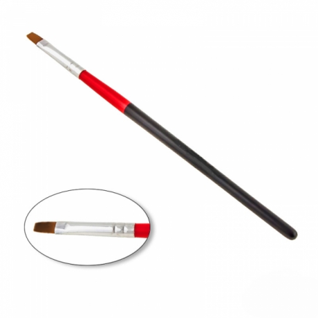 Geelipintsel No 4 black red