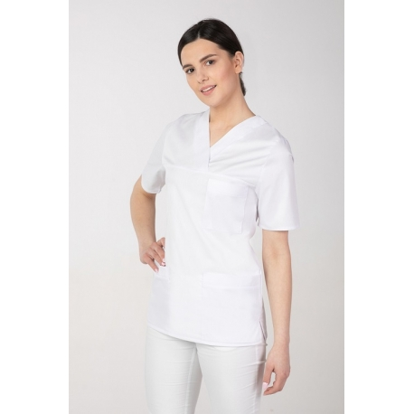 Naiste tööriided - Meditsiini pluus valge