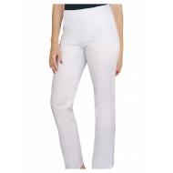 Naiste tööriided - Meditsiinilised püksid valged