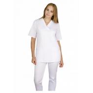Naiste tööriid - Komplekt valge pluus + püksid