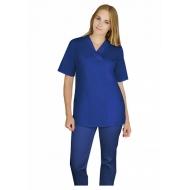 Naiste tööriid - Komplekt sinine pluus + püksid